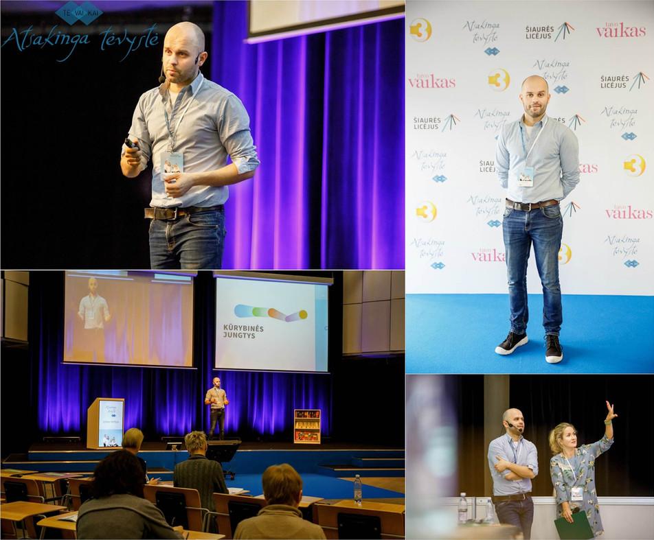 kūrybinės jungtys, konferencija