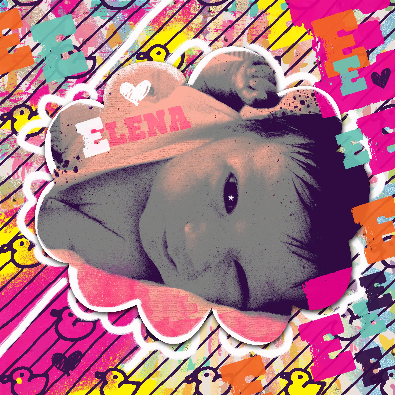 Baby popart