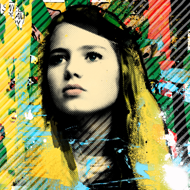 pop art portret