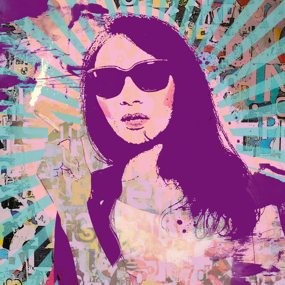 Popart portret