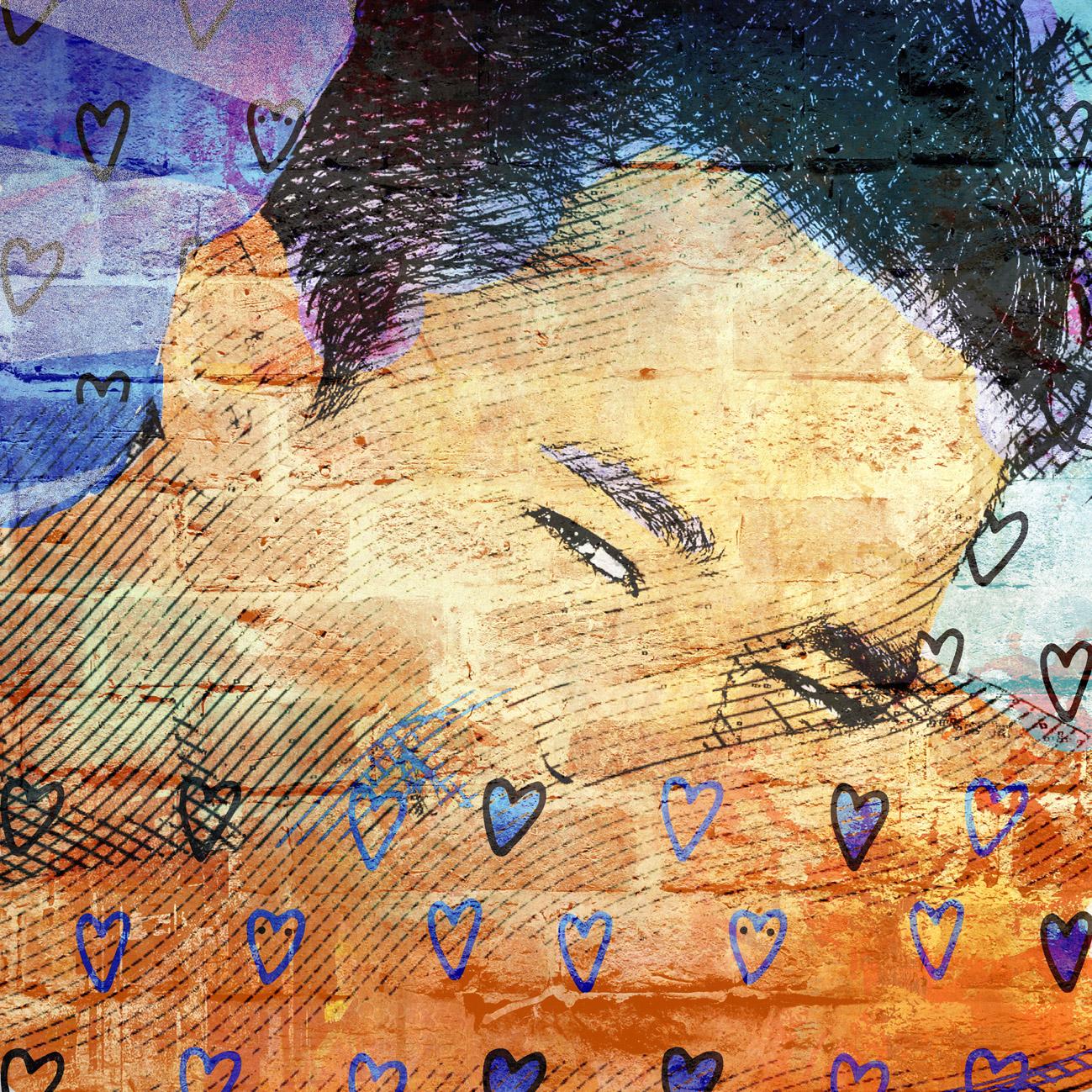 Pop art portrait