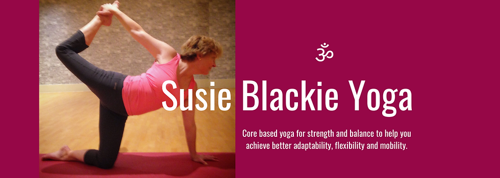 Core based yoga for strength and balance