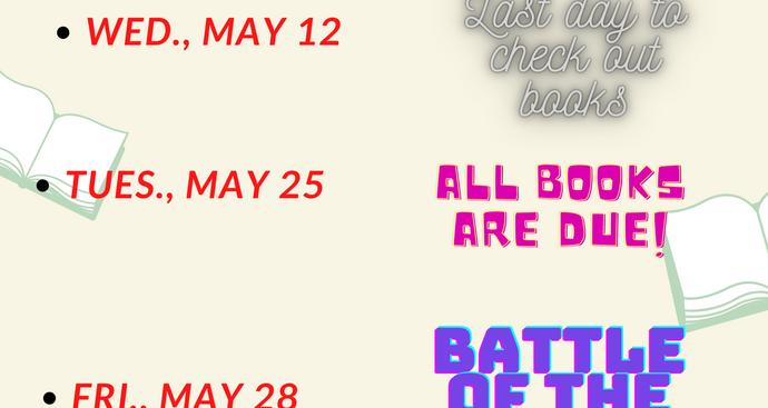 Media Center Dates