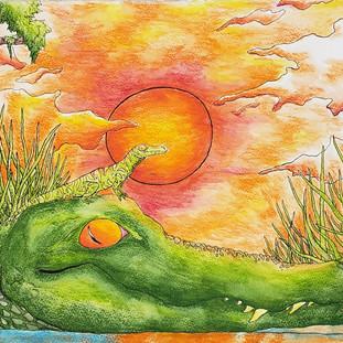 Elly Diaz-Sunset Gator