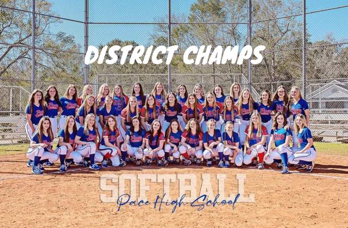 Softball District Champs