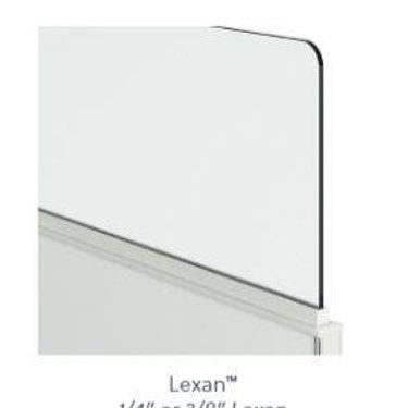"""Lexan 1/4"""" Panel Top"""