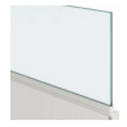 """Glass 3/8"""" Panel Top"""