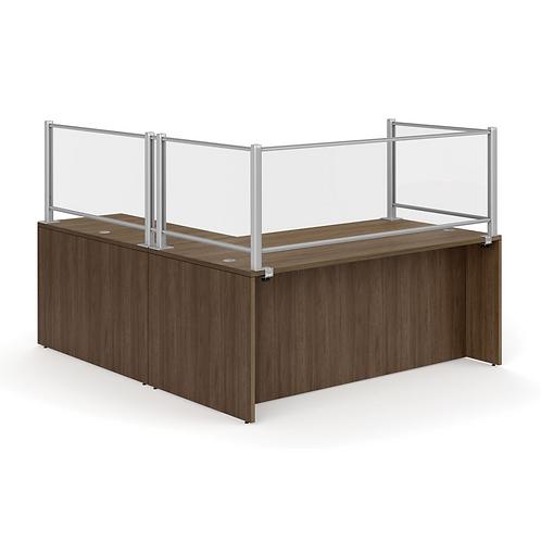 L Shape Typical Modular Desk Workstation