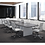 Thumbnail: Boat Shaped Conference Table with Slab Base