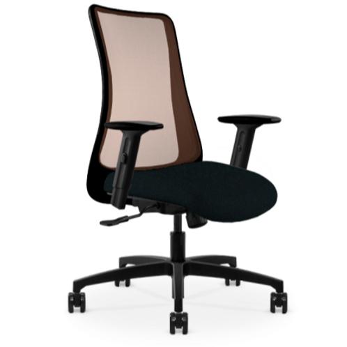 VIA Genie Copper Mesh Task Chair