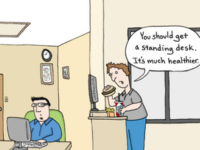 4 Tips for First Time Users of a Standing Desk
