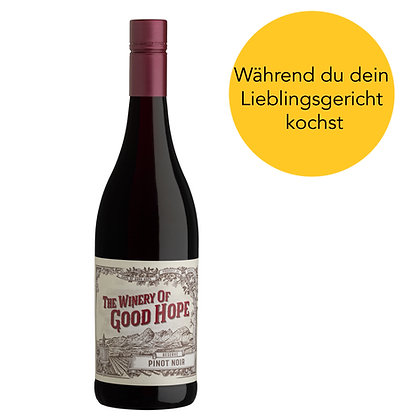 The Winery of Good Hope - Reserve Pinot noir