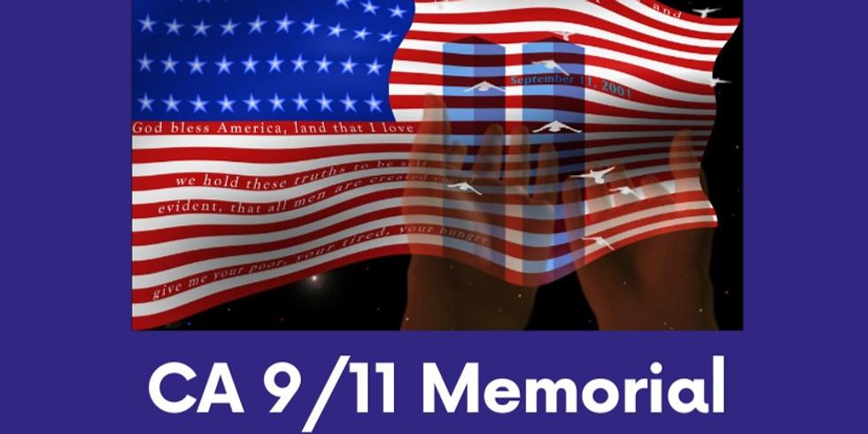 CA 9/11 Memorial Commemoration Ceremony