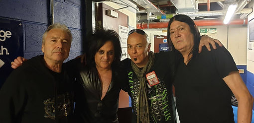 with CLIVE EDWARDS, STEVE STEVENS and PE