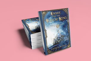 Emmie and the Tudor King hardcover etsy.
