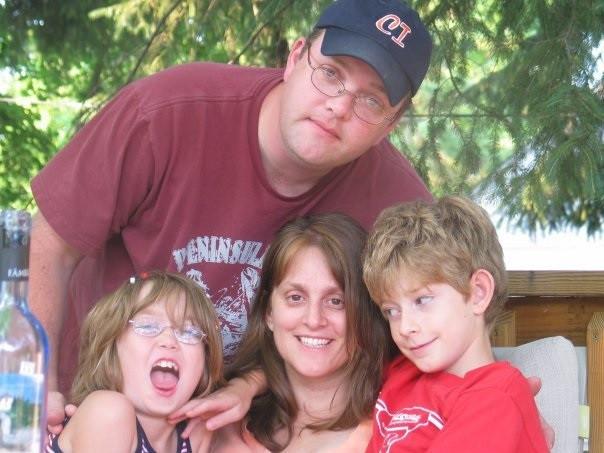 Jay and Cristina with Kiki and Josh.