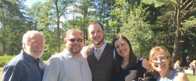 Mike, Steve, Jake, Me & Deb