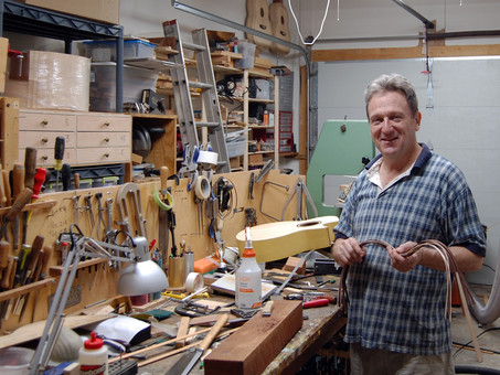Internationally Known Luthier Moves to Saline