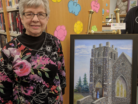 At 85, Northern Michigan Artist (& my Aunt) Kathryn Cubalo Talks About Creating Art, Loving to L