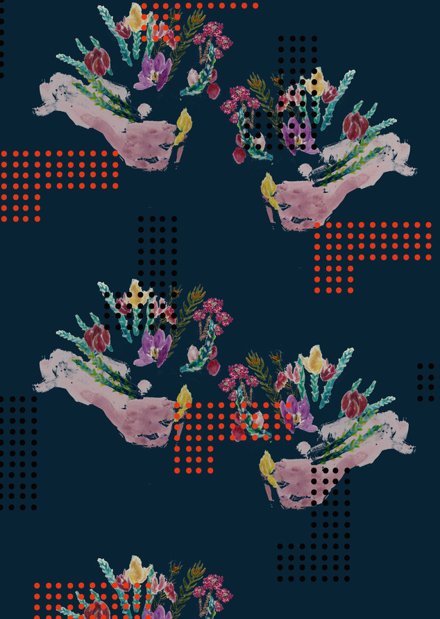 flowers in your both hands - 両手に花