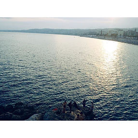 #southfrance #nice #ocean #round