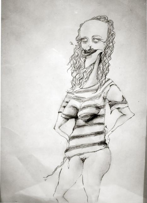 histeric woman