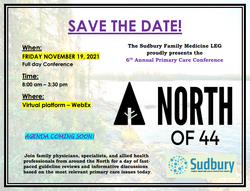North of 44 - save the date (Nov 2021)