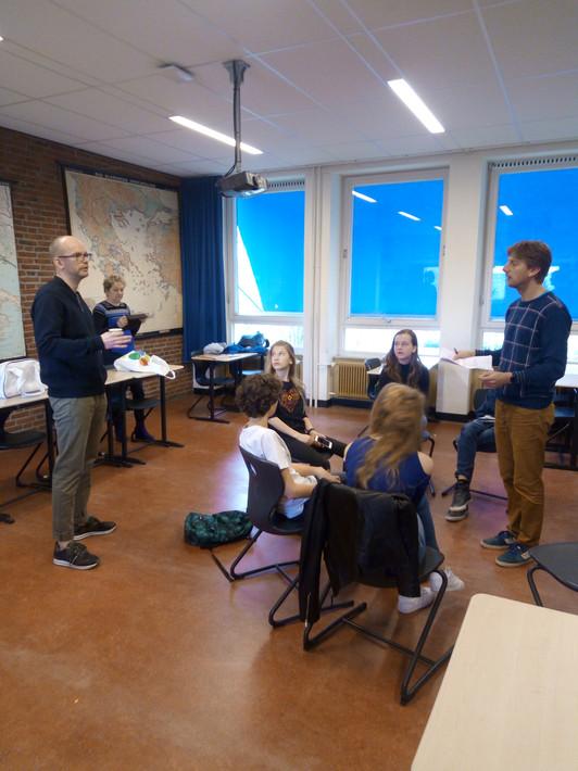 Opname instructiefilm Steungroepaanpak Voortgezet Onderwijs