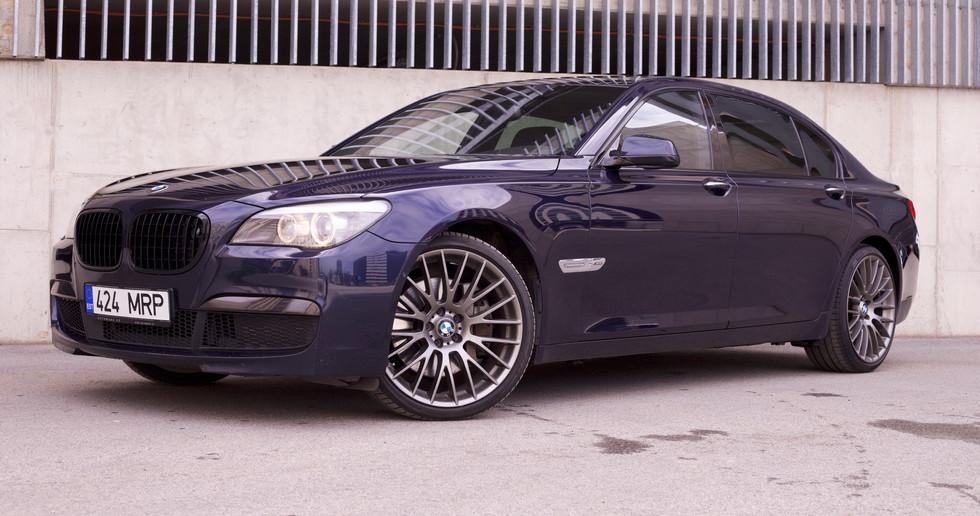 BMW 750iL M-PACK 2011