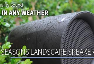 Origin Acoustics Outdoor Speaker Systems.