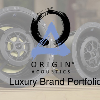 Origin Acoustics' Luxury Brand Portfolio