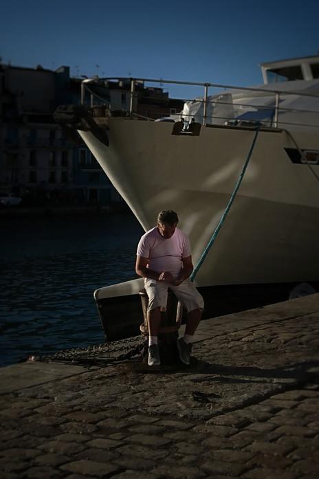 © Valérie Salvo Retour au port