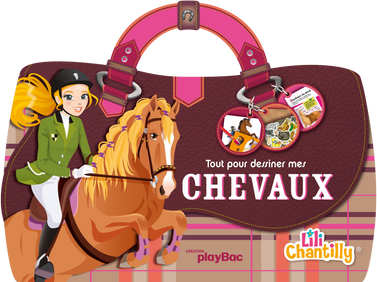 © Collectif pour playBac, collection Lili Chantilly, Chevaux