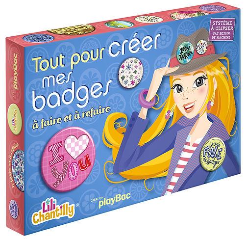 © Valérie Salvo pour playBac, Tout pour créer mes badges, Coffret