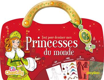 © Collectif pour playBac, collection Lili Chantilly, Princesses du monde