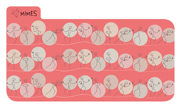 © Valérie Salvo pour Larousse, Boîte Quiz, Création Onglet Mimes