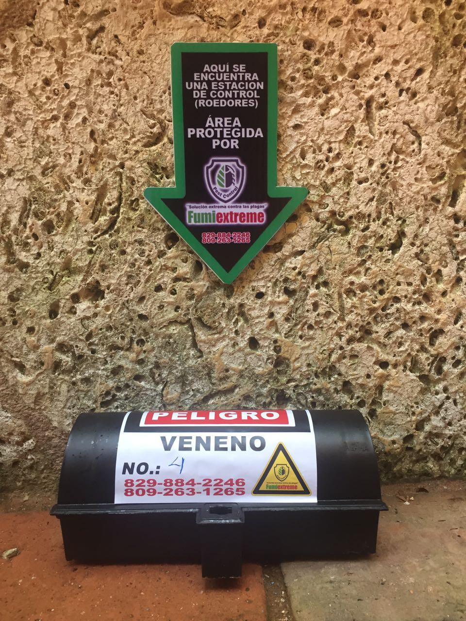 Estación de Control para roedores instalada en un Hotel en la Zona Colonial de Santo Domingo