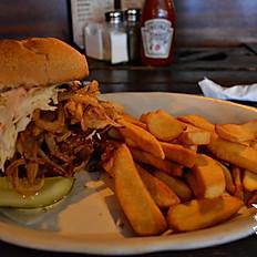 Southern Pork Sandwich