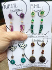 Riehl Hot Beads- earrings
