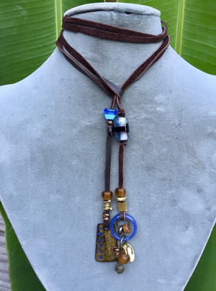 Lariats cooperatively created with Mary Attwood