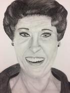Art I portrait drawing