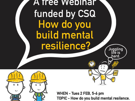 How do you build mental resilience?
