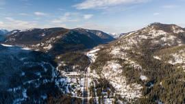 Manning Park Resort Winter Landscape