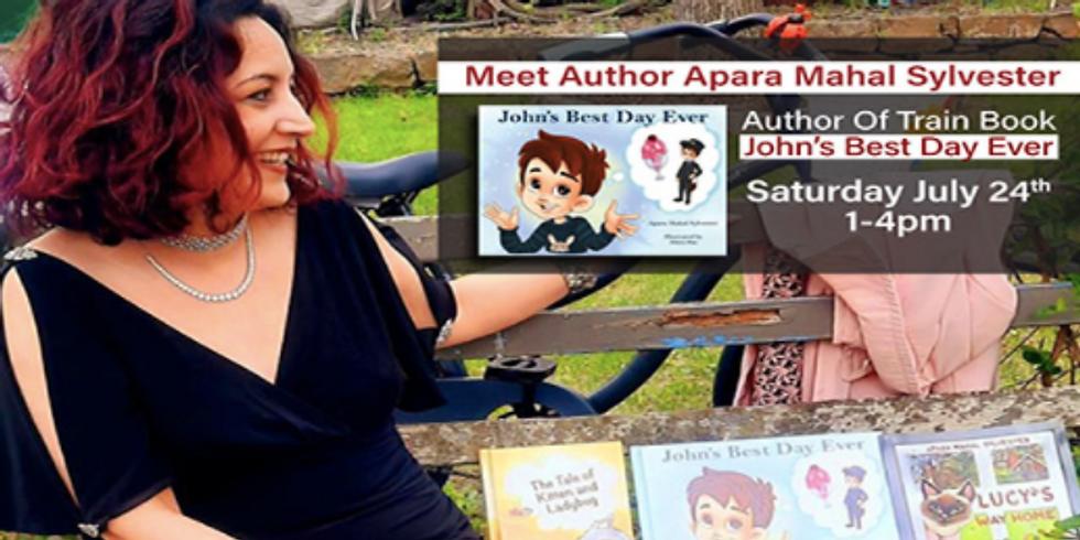 Book Signing w/JOHN'S BEST DAY EVER author APARA MAHAL SYLVESTER