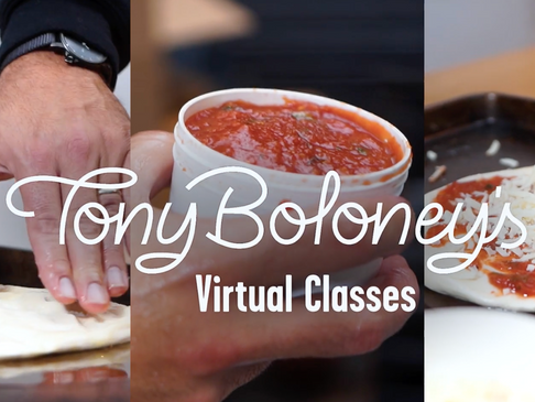 Day 7 Giveaway: Tony Boloney's Virtual Cooking Class