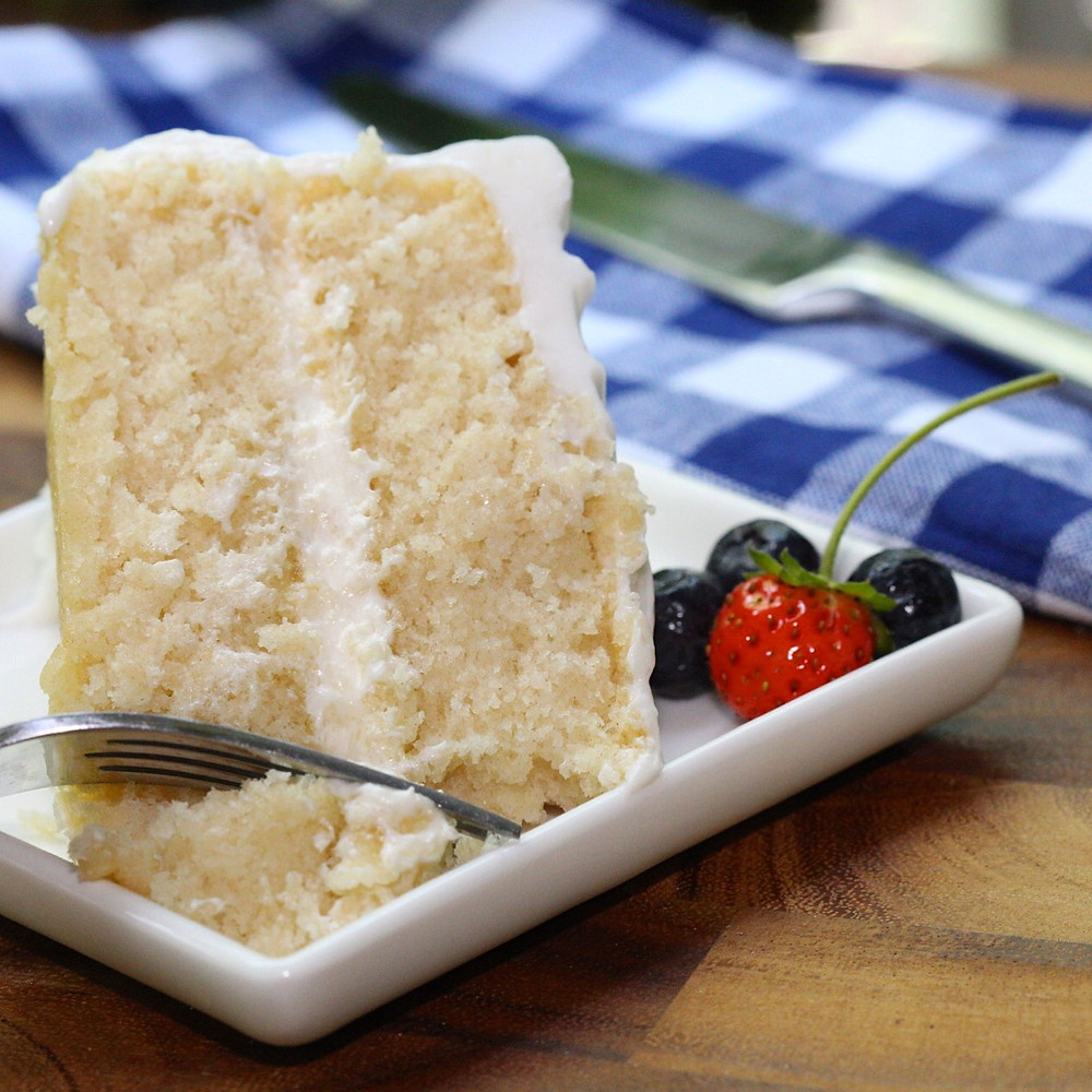 The Best White Cake Ever
