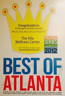 Best of Atlanta 2012