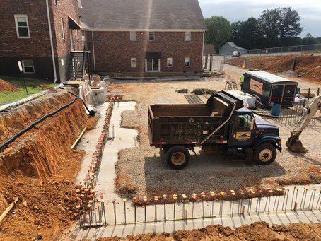We have concrete!