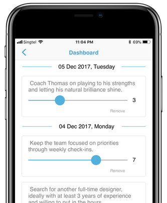 MasterCoach Dashboard