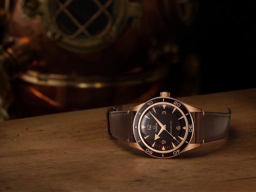 【新青銅金面世】 OMEGA Seamaster 300海馬潛水青銅金腕錶